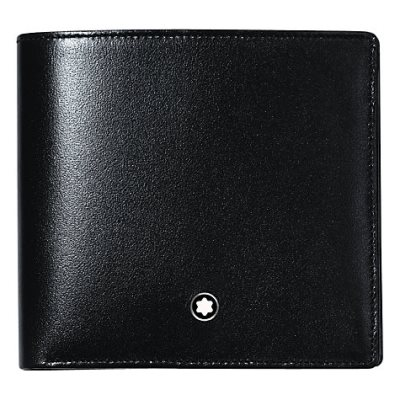 Montblanc Meisterstück 4 Card and Coin Pocket Leather Wallet